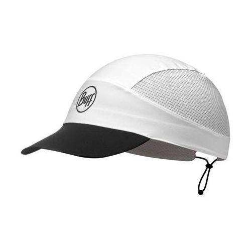Buff Czapka pack run cap - r-solid white