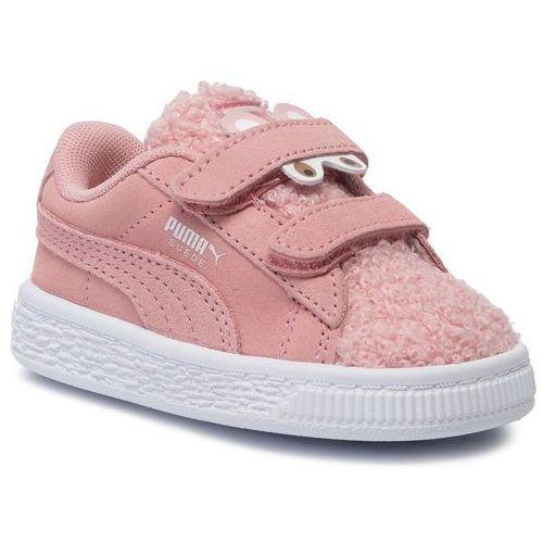 Puma Sneakersy - suede winter monster v inf 370006 03 bridal rose/mocha mousse