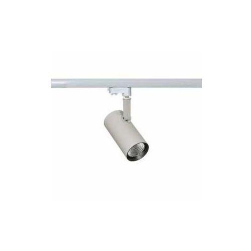 Lampa sufitowa oprawa szynowa Italux Russo M 1x28W LED biały mat/szary TL7556/28W 4000K WH+GR