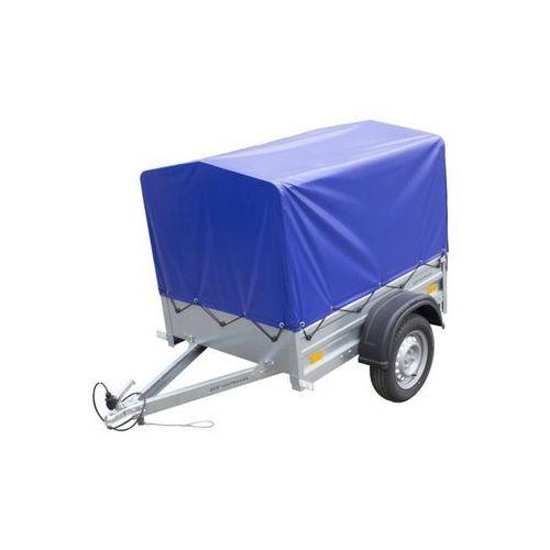 Unitrailer Przyczepa samochodowa lekka 150 x 106 z plandeką i stelażem dmc 750 kg garden trailer 150 (5907640254401)