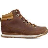 The North Face MEN'S BACK TO BERKELEY REDUX LEATHER 090 DIJON BROWN TAGUMI BROWN - Buty Męskie Zimowe - DIJON BROWN/TAGUMI BROWN