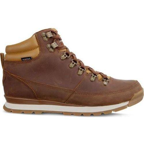men's back to berkeley redux leather 090 dijon brown tagumi brown – buty męskie zimowe – dijon brown/tagumi brown marki The north face