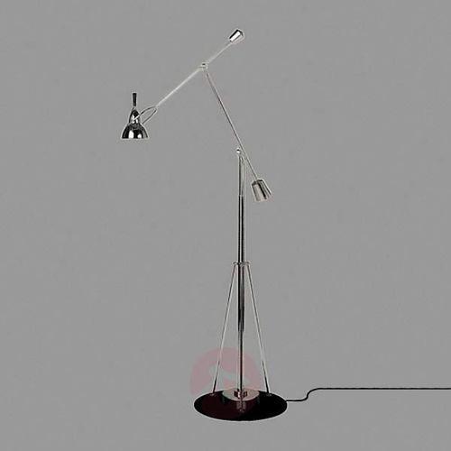 buquet lampa podłogowa, posrebrzana marki Tecnolumen