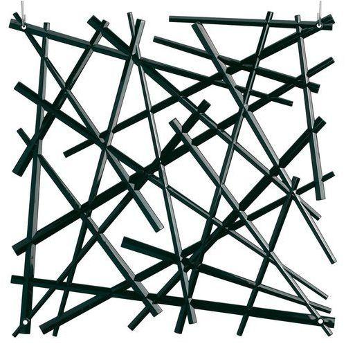 Panel dekoracyjny stixx - 4 sztuki w komplecie - kolor czarny, marki Koziol