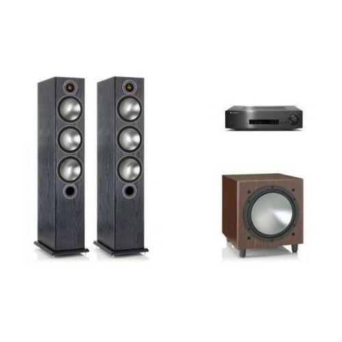 Cambridge audio cxa60 + monitor audio bronze 6 + w10 marki Zestawy