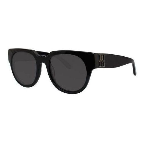 Okulary słoneczne isabetta black marki Vera wang