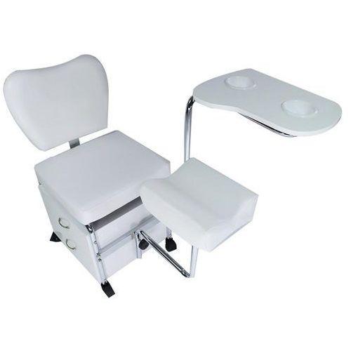 Fotel kosmetyczny pomocnik do pedicure i manicure