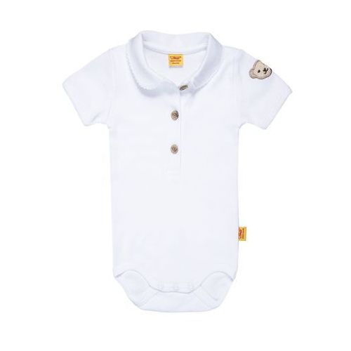 Steiff Collection 1/4 ARM NEWBORN ESSENTIALS BABY Body bright white, kolor biały
