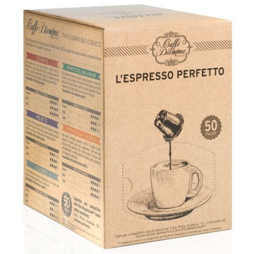 Diemme SPIRITO DELLA TANZANIA kapsułki do Nespresso – 50 kapsułek, 8057288680013