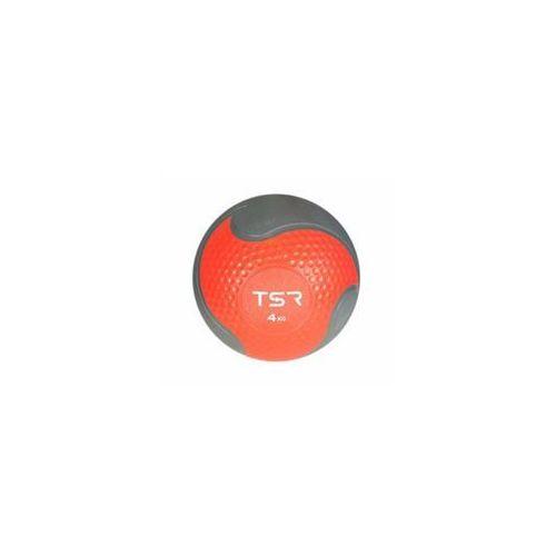 TSR Piłka lekarska kauczukowa- Czerwony, 4 kg - Czerwony \ 4 kg (5903140108191)