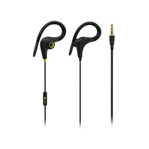 Słuchawki dokanałowe MELICONI Auricolare Sport Speak Fit Czarno-żółty
