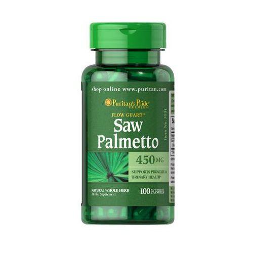 Palma sabałowa 450mg Saw Palmetto 100 kapsułek Puritan's Pride, kup u jednego z partnerów