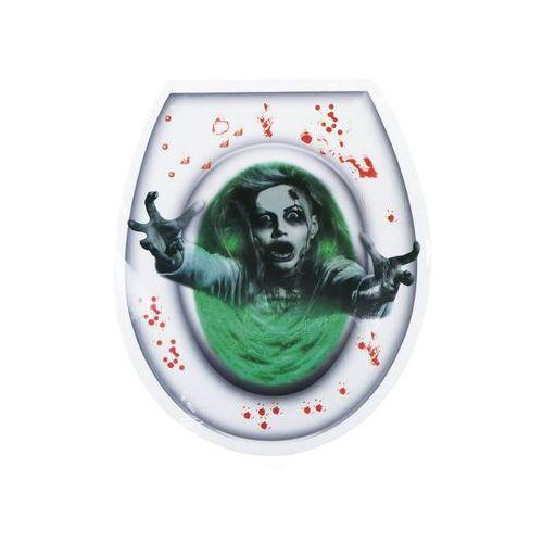 Halloweenowa naklejka na deskę toaletową Duch (8712026722256)