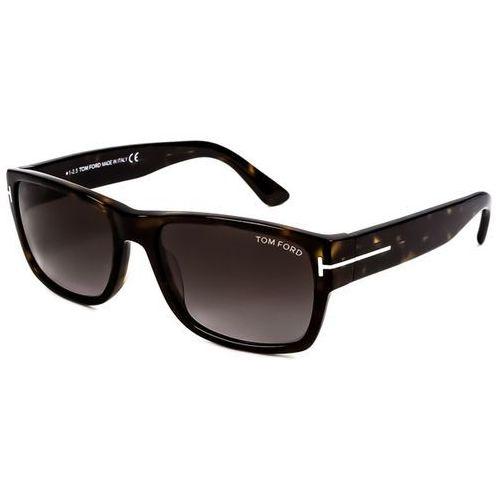 Tom ford Okulary słoneczne ft0445 mason 52b