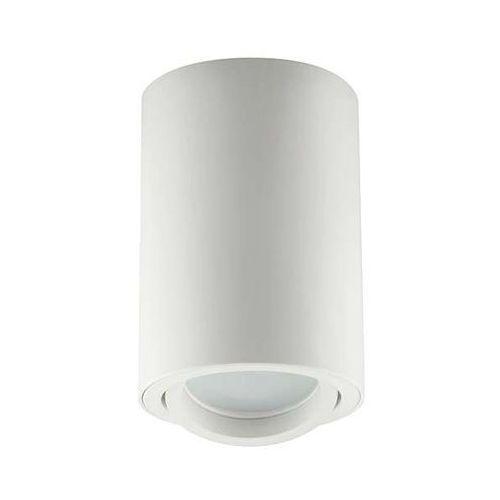 Ideus Downlight lampa sufitowa bemol 03537 natynkowa oprawa metalowy spot tuba biała (5901477335372)