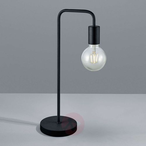 Trio leuchten diallo lampa stołowa czarny, 1-punktowy - nowoczesny - obszar wewnętrzny - diallo - czas dostawy: od 2-3 tygodni (4017807407280)