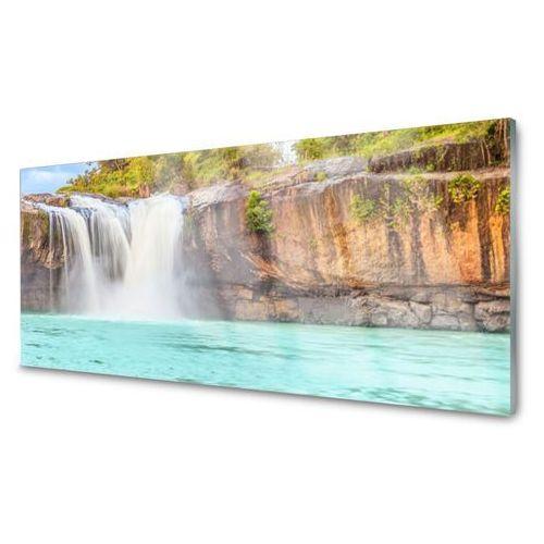 Panel szklany wodospad jezioro krajobraz marki Tulup.pl