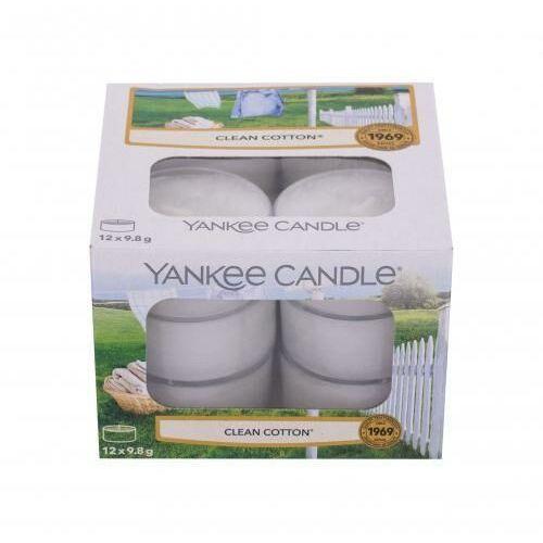 clean cotton świeczka zapachowa 117,6 g unisex marki Yankee candle
