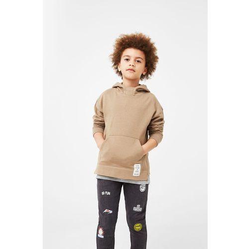 Mango Kids - Spodnie dziecięce Rolf 104-164 cm