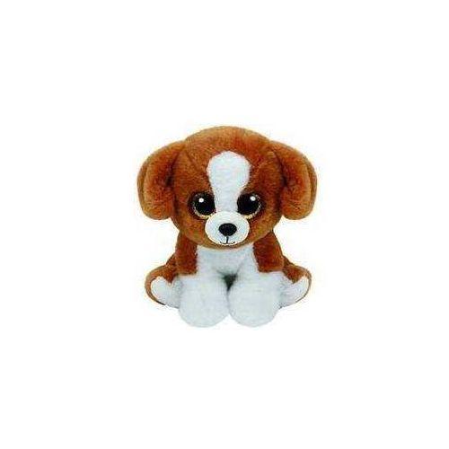 Ty Beanie babies snicky - brązowo-biały pies 15 cm (0008421421824)