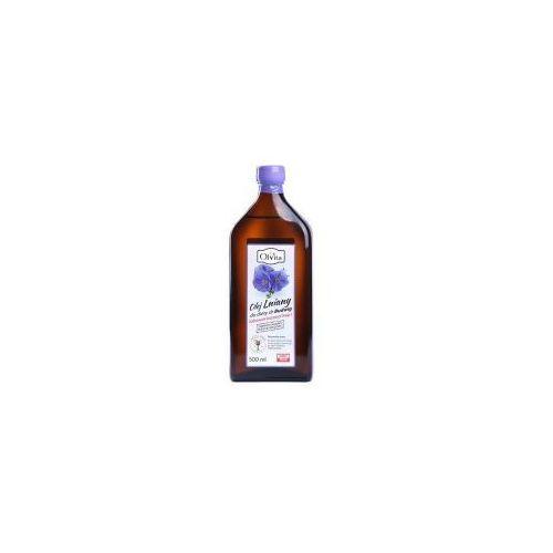 Olej lniany do diety dr budwig 500 ml marki Olvita. Najniższe ceny, najlepsze promocje w sklepach, opinie.