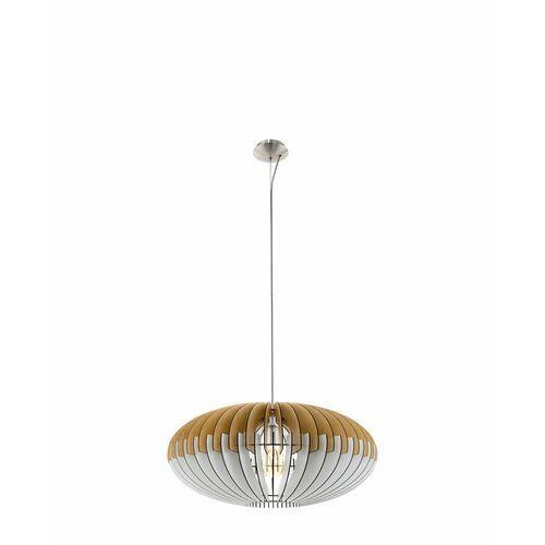 Eglo Sotos 96964 lampa wisząca drewno