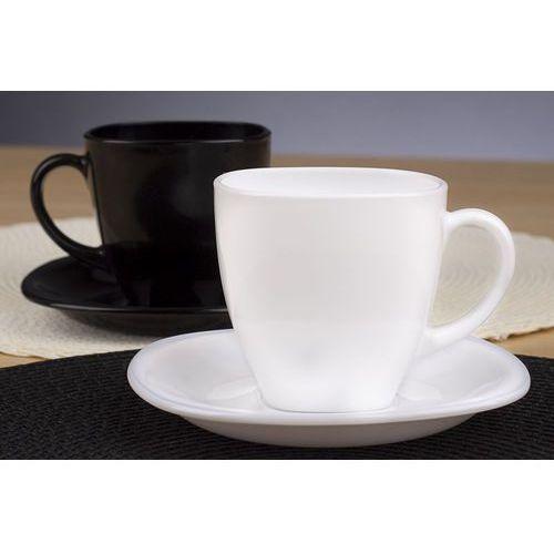 Chodzież / berni Luminarc carine black&white serwis kawowy 220 ml 12/6