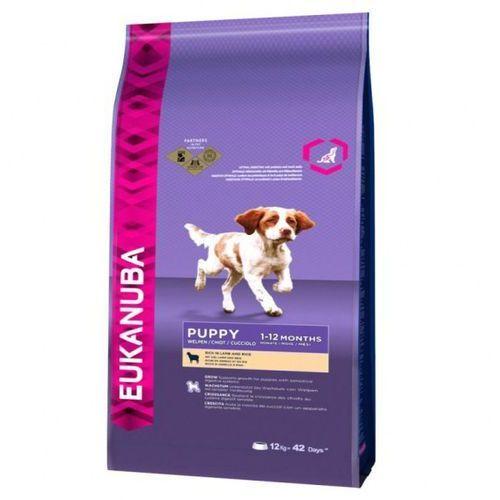 Eukanuba  puppy all breeds lamb & rice 12kg