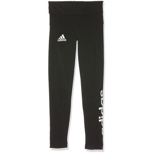 Adidas spodnie dziecięce Tight Linear, czarny (4057288026235)