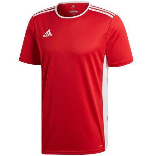 Adidas Koszulka dla dzieci entrada 18 jersey junior czerwona cf1038/cf1050