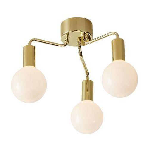 Markslojd Lampa sufitowa history 105774 oprawa żarówki bulbs mosiądz białe