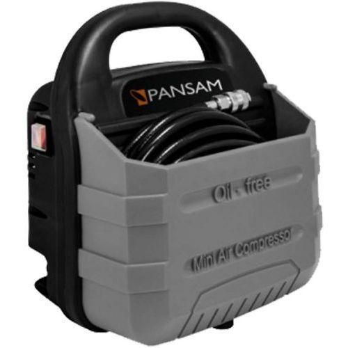 Pansam kompresor bezzbiornikowy 1,1kw, 9 szt. akcesorów
