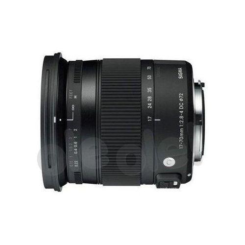 Sigma 17-70 mm f/2,8-4 DC Macro OS HSM C Nikon - produkt w magazynie - szybka wysyłka!, OSDN17-70/2.8-4 C