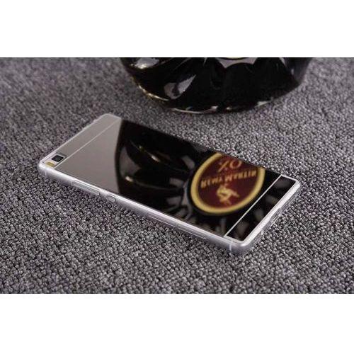 Slim Mirror Case Srebrny | Etui dla Huawei P8 Lite - Srebrny