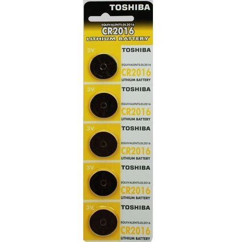 Baterie Litowe Toshiba CR2016 PW BP-5- natychmiastowa wysyłka, ponad 4000 punktów odbioru! (4904530588884)