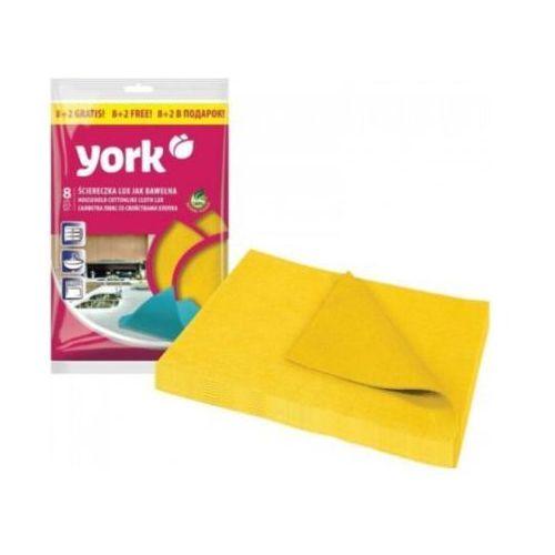Ściereczka 020340 (10 sztuk) żółty marki York