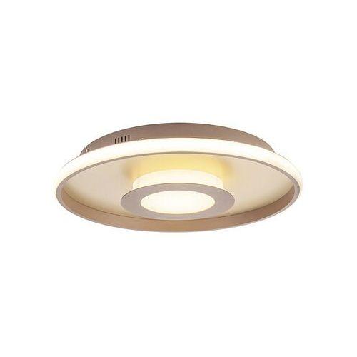 Lampa sufitowa złota 45 cm włącznie z diodą led z pilotem - oculus marki Honsel