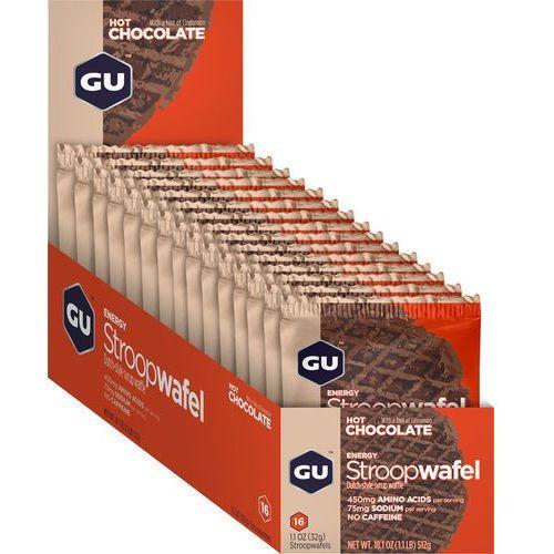 Gu energy stroopwafel żywność dla sportowców hot chocolate 16 x 32g 2018 zestawy i multipaki
