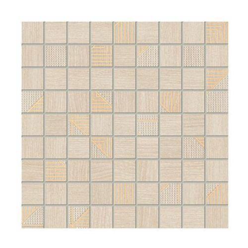 Mozaika WOODBRILLE BEIGE 30 x 30 TUBADZIN MANAGEMENT (5903238024853)
