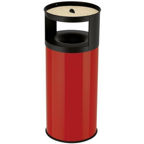 Hailo Pojemnik na odpadki, z nakładaną popielniczką, gaszenie płomieni, miejsce na odp