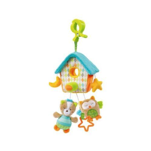 FEHN Mini-Muzyczna zawieszka Domek dla ptaszków - Sleeping Forest