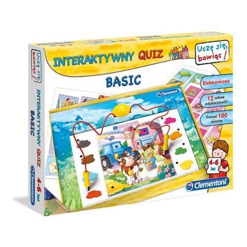 Clementoni Edukacyjna  interaktywny quiz basic c60062