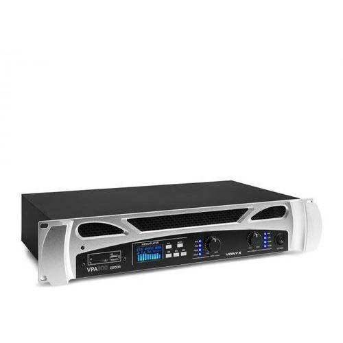 Vonyx FPA300 PA Wzmacniacz 2 x 150 W Funkcja BT Media Player LED USB SD (8715693303230)