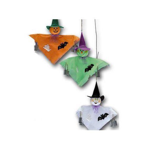 Dekoracja wisząca dynia na halloween - 1 szt. marki Carnival
