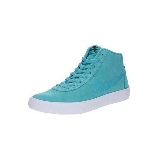 sb trampki wysokie 'nike sb bruin hi skateboarding shoe' niebieski / turkusowy marki Nike