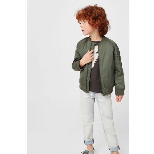 Mango kids  - jeansy dziecięce vanilla 104-164 cm