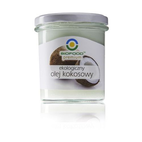 Olej kokosowy bio 240g - marki Bio food