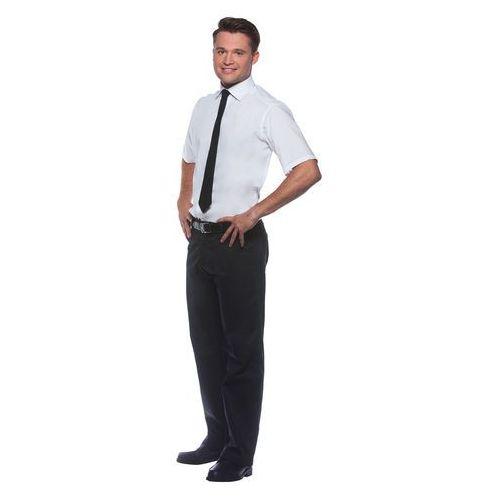 Koszula męska z krótkim rękawem, rozmiar 54, biała | , jona marki Karlowsky