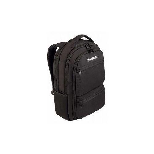 Plecak z kieszenią na laptopa do 15,6' marki model fuse - kolor czarny marki Wenger