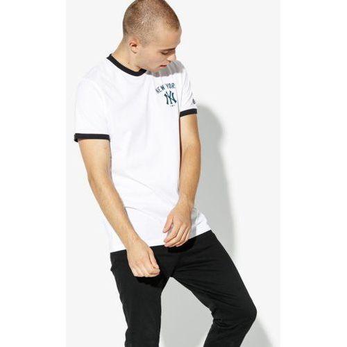 New era t shirt ss post logo tee neyyan whi new york yankees